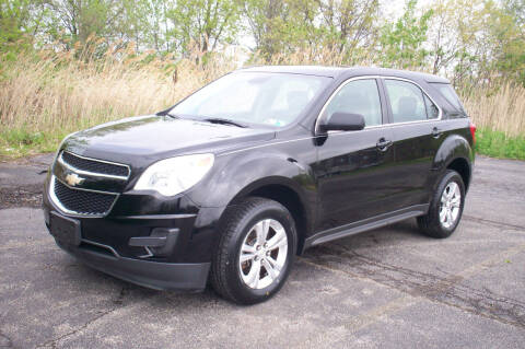 2013 Chevrolet Equinox for sale at Action Auto Wholesale - 30521 Euclid Ave. in Willowick OH
