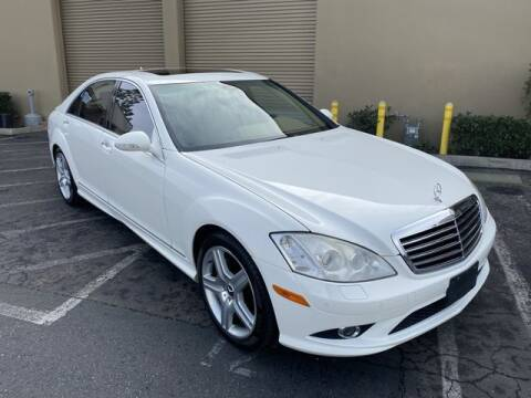 2007 Mercedes-Benz S-Class for sale at TOP OFF MOTORS in Costa Mesa CA