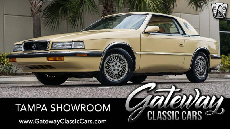1989 Chrysler TC for sale in Ruskin, FL