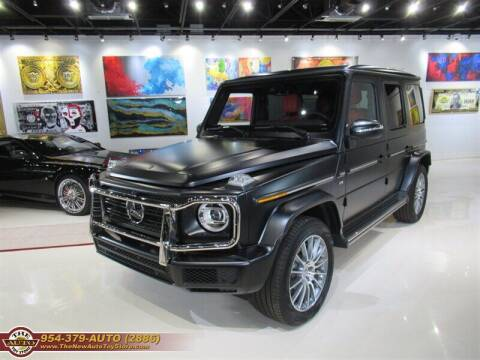 2020 Mercedes-Benz G-Class for sale at The New Auto Toy Store in Fort Lauderdale FL