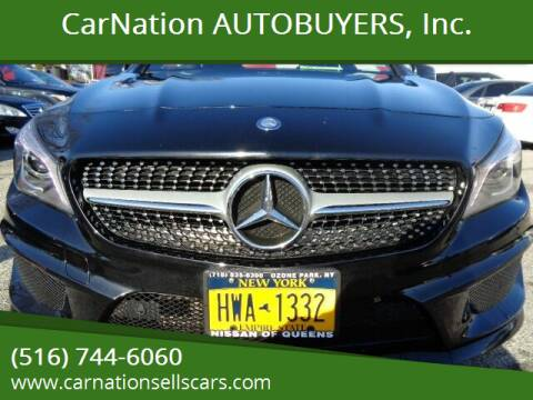 2014 Mercedes-Benz CLA for sale at CarNation AUTOBUYERS, Inc. in Rockville Centre NY