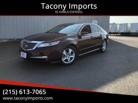 2010 Acura TL for sale at Tacony Imports in Philadelphia PA