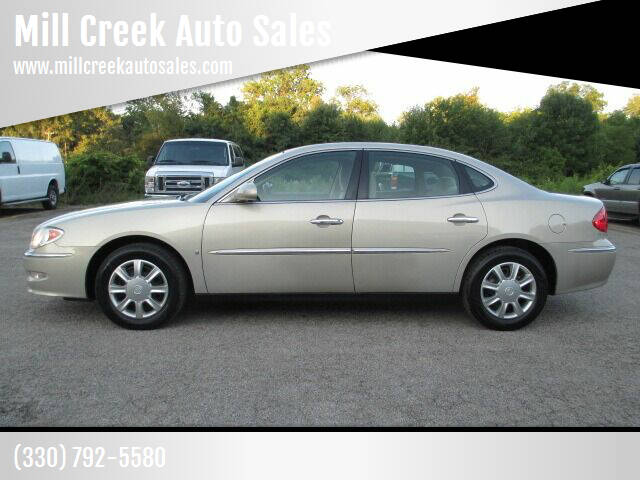 2008 Buick LaCrosse for sale at Mill Creek Auto Sales in Youngstown OH