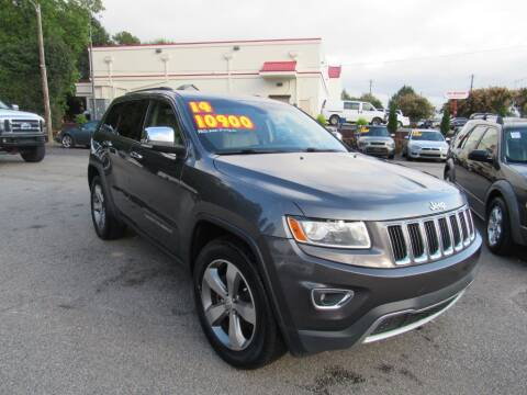 2014 Jeep Grand Cherokee for sale at Auto Bella Inc. in Clayton NC
