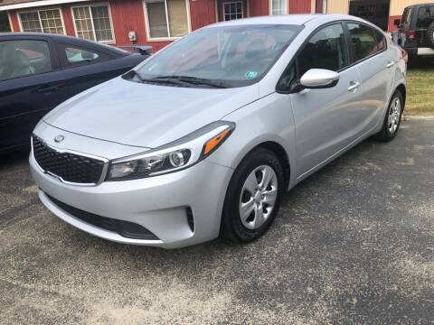 2017 Kia Forte for sale at Elite Motors in Uniontown PA