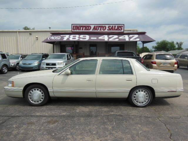 1997 Cadillac DeVille for sale at United Auto Sales in Oklahoma City OK