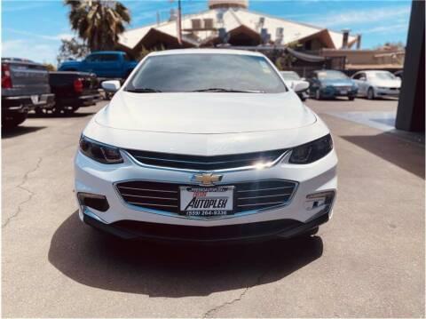2018 Chevrolet Malibu for sale at Carros Usados Fresno in Fresno CA