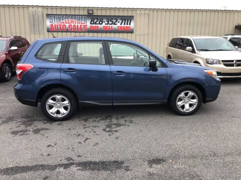 2014 Subaru Forester for sale at Stikeleather Auto Sales in Taylorsville NC