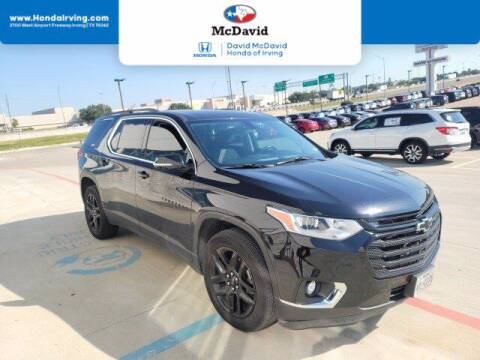 2019 Chevrolet Traverse for sale at DAVID McDAVID HONDA OF IRVING in Irving TX