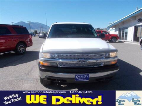 2000 Chevrolet Tahoe for sale at QUALITY MOTORS in Salmon ID