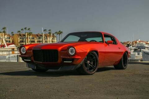 1971 Chevrolet Camaro for sale at HIGH-LINE MOTOR SPORTS in Brea CA
