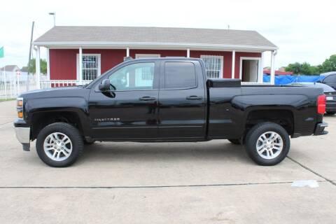 2015 Chevrolet Silverado 1500 for sale at AMT AUTO SALES LLC in Houston TX