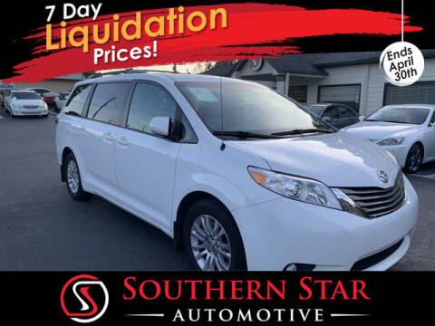 2012 Toyota Sienna for sale at Southern Star Automotive, Inc. in Duluth GA