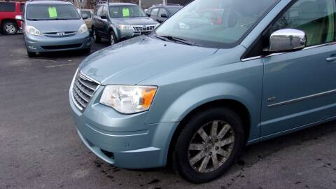 2009 Chrysler Town and Country for sale at Eagle's Wings Auto Sales in Hilton NY