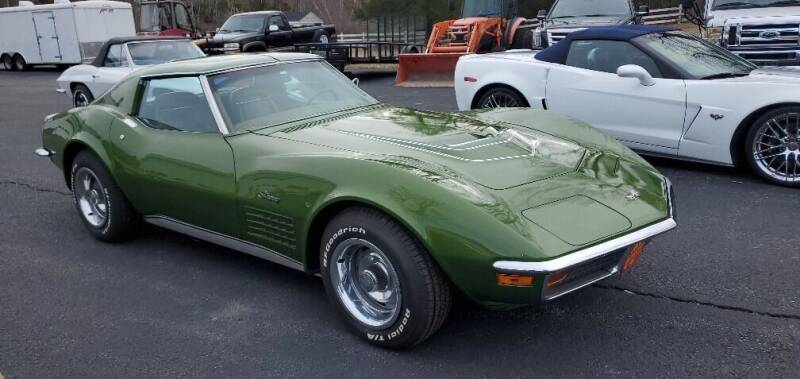 1972 Chevrolet Corvette for sale at Carroll Street Auto in Manchester NH