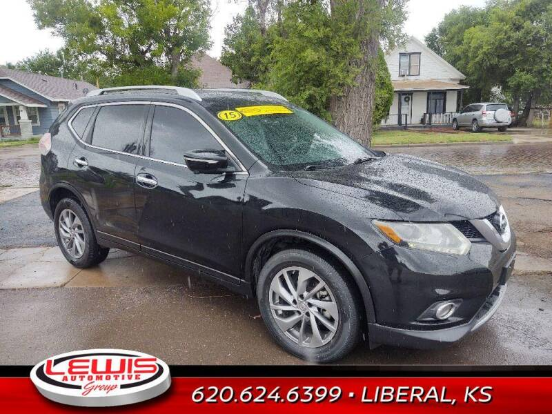 2015 Nissan Rogue for sale at Lewis Chevrolet Buick of Liberal in Liberal KS