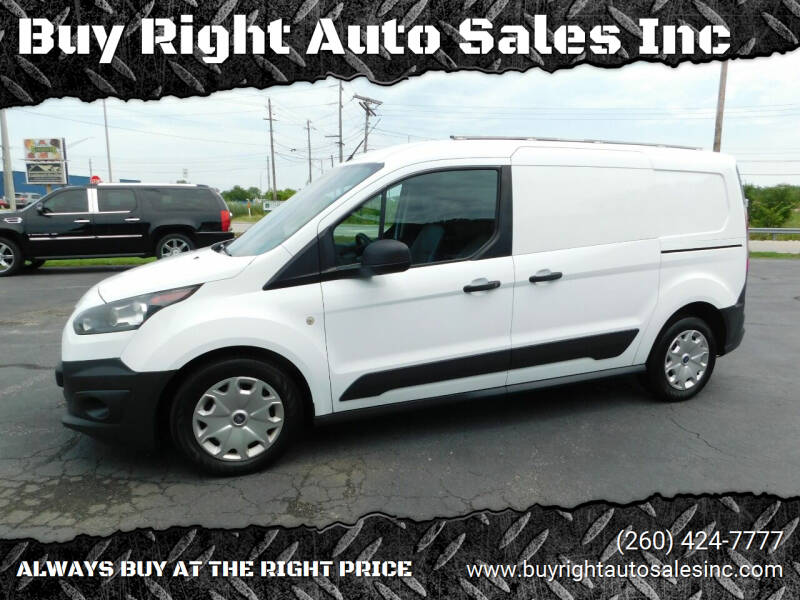 2016 Ford Transit Connect Cargo for sale at Buy Right Auto Sales Inc in Fort Wayne IN