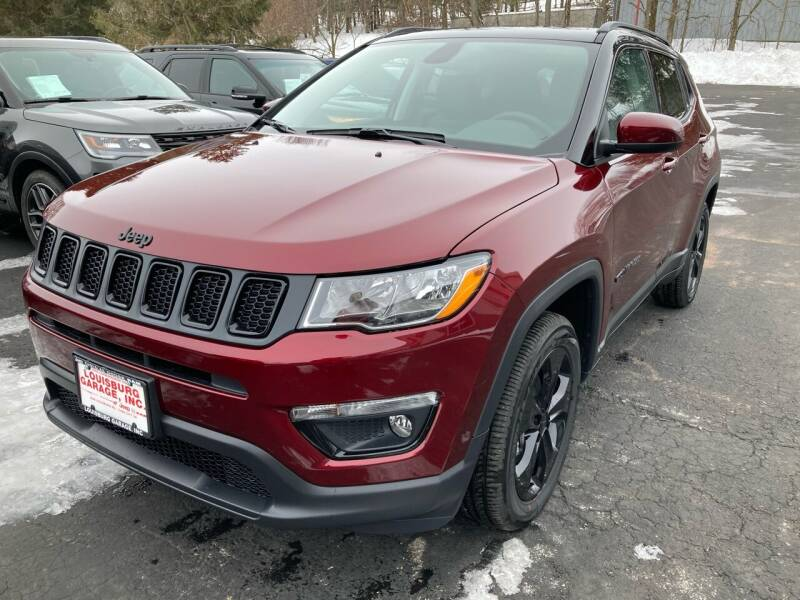 2021 Jeep Compass for sale at Louisburg Garage, Inc. in Cuba City WI