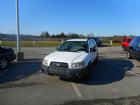 2003 Subaru Forester for sale at Willow Creek Auto Sales in Knoxville TN