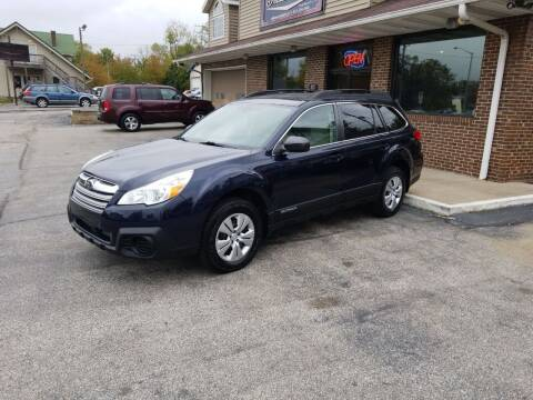 2013 Subaru Outback for sale at Indiana Auto Sales Inc in Bloomington IN