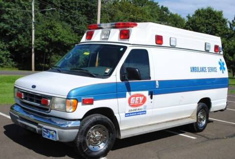 2001 Ford E-450 for sale at Global Emergency Vehicles Inc in Levittown PA