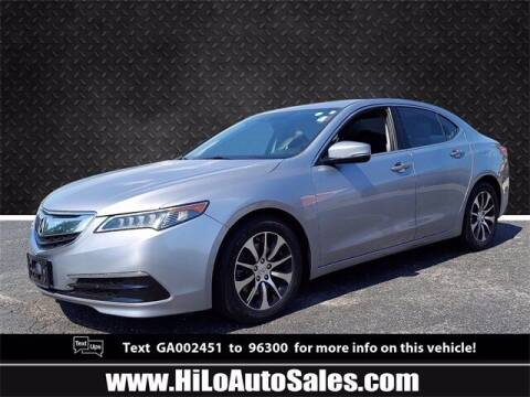 2016 Acura TLX for sale at Hi-Lo Auto Sales in Frederick MD