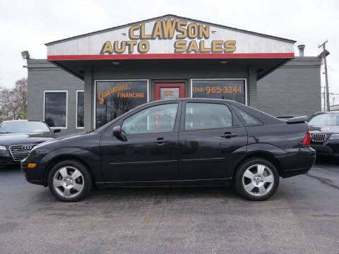2007 Ford Focus for sale at Clawson Auto Sales in Clawson MI
