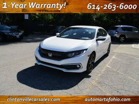 2019 Honda Civic for sale at Clintonville Car Sales - AutoMart of Ohio in Columbus OH
