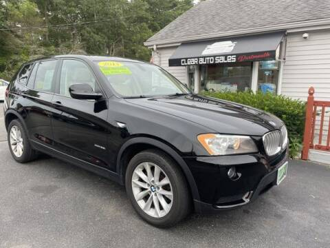 2013 BMW X3 for sale at Clear Auto Sales in Dartmouth MA