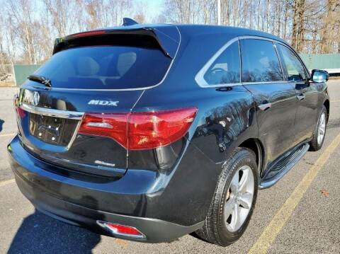 2016 Acura MDX for sale at Weaver Motorsports Inc in Cary NC