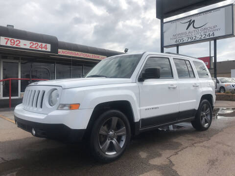 2015 Jeep Patriot for sale at NORRIS AUTO SALES in Oklahoma City OK