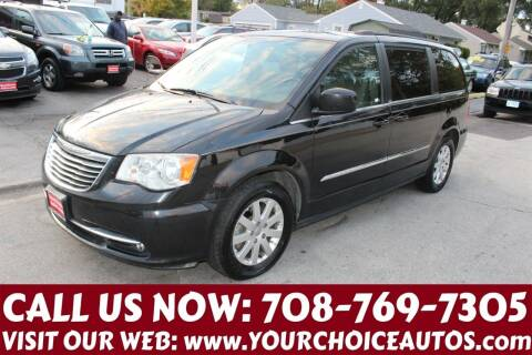 2014 Chrysler Town and Country for sale at Your Choice Autos in Posen IL