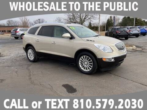 2012 Buick Enclave for sale at LASCO FORD in Fenton MI