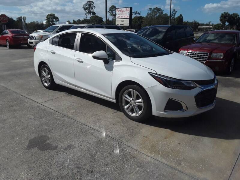 2017 Chevrolet Cruze for sale at FAMILY AUTO BROKERS in Longwood FL