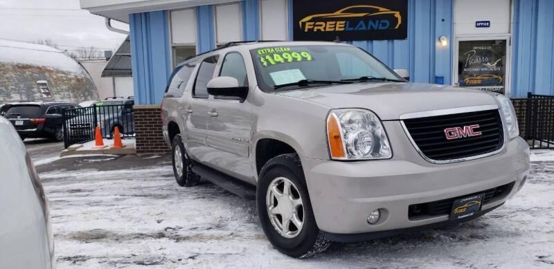 2009 GMC Yukon XL for sale at Freeland LLC in Waukesha WI