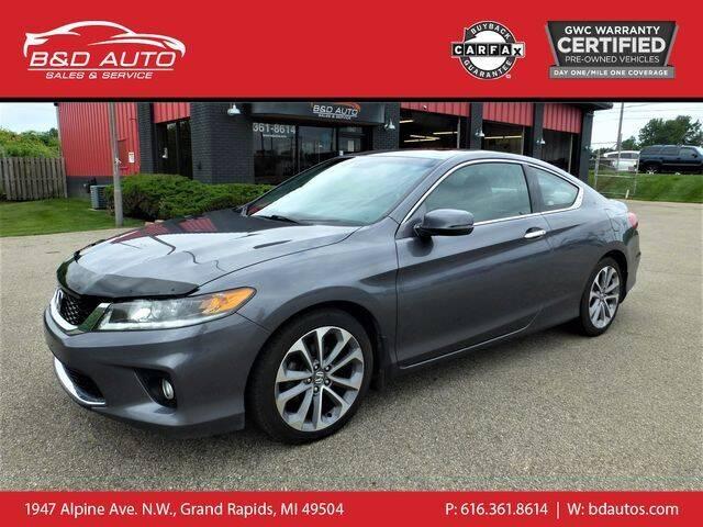 2013 Honda Accord for sale at B&D Auto Sales Inc in Grand Rapids MI