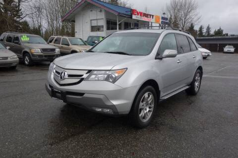 2008 Acura MDX for sale at Leavitt Auto Sales and Used Car City in Everett WA