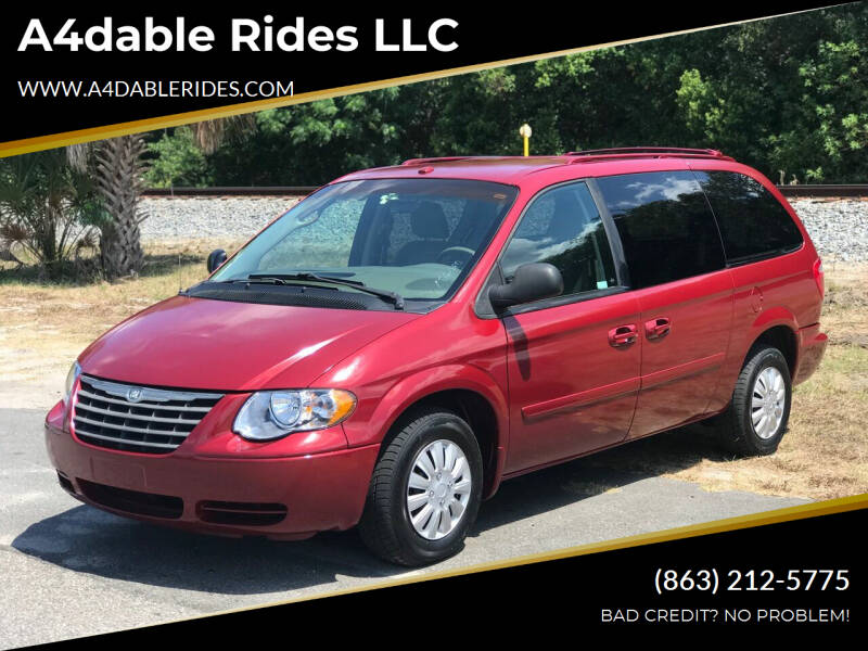 2006 Chrysler Town and Country for sale at A4dable Rides LLC in Haines City FL