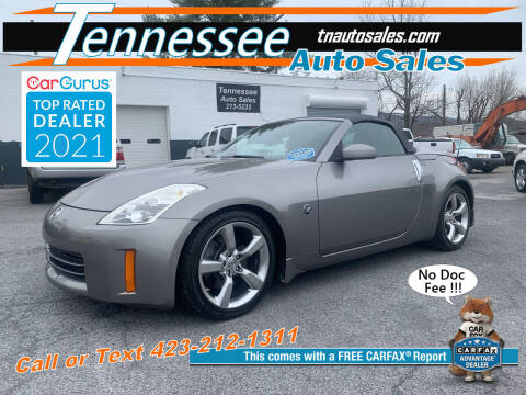 2007 Nissan 350Z for sale at Tennessee Auto Sales in Elizabethton TN