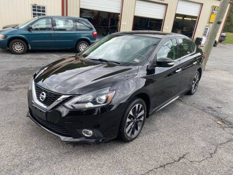 2017 Nissan Sentra for sale at THE AUTOMOTIVE CONNECTION in Atkins VA
