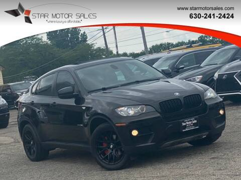 2013 BMW X6 for sale at Star Motor Sales in Downers Grove IL