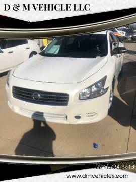 2009 Nissan Maxima for sale at D & M Vehicle LLC in Oklahoma City OK