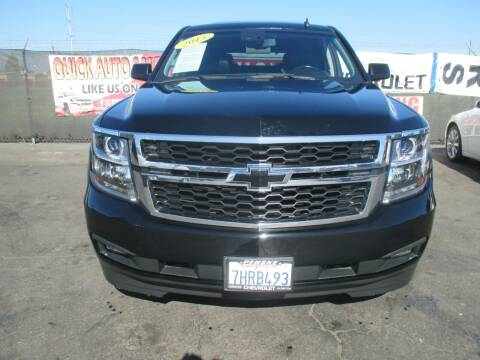 2015 Chevrolet Tahoe for sale at Quick Auto Sales in Modesto CA