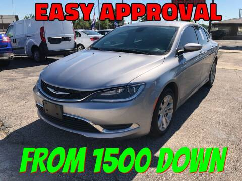 2015 Chrysler 200 for sale at Ital Auto in Oklahoma City OK