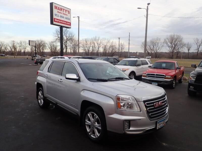 2016 GMC Terrain for sale at Marty's Auto Sales in Savage MN