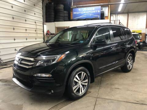 2016 Honda Pilot for sale at T James Motorsports in Gibsonia PA