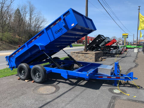 2021 Cam Superline 7x14 Advantage Dump Trailer for sale at Smart Choice 61 Trailers in Shoemakersville PA