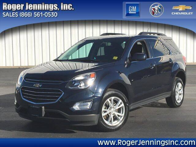 2016 Chevrolet Equinox for sale at ROGER JENNINGS INC in Hillsboro IL