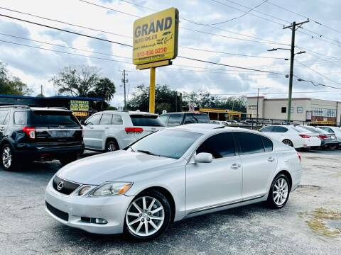 2007 Lexus GS 350 for sale at Grand Auto Sales in Tampa FL