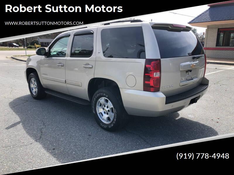 2007 Chevrolet Tahoe for sale at Robert Sutton Motors in Goldsboro NC